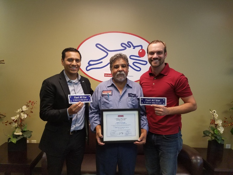Guillermo Gonzalez Receives Career Achievement Safety Award