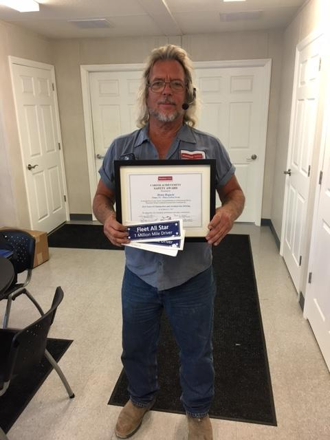 Hank Rogacki Receives Career Achievement Safety Award