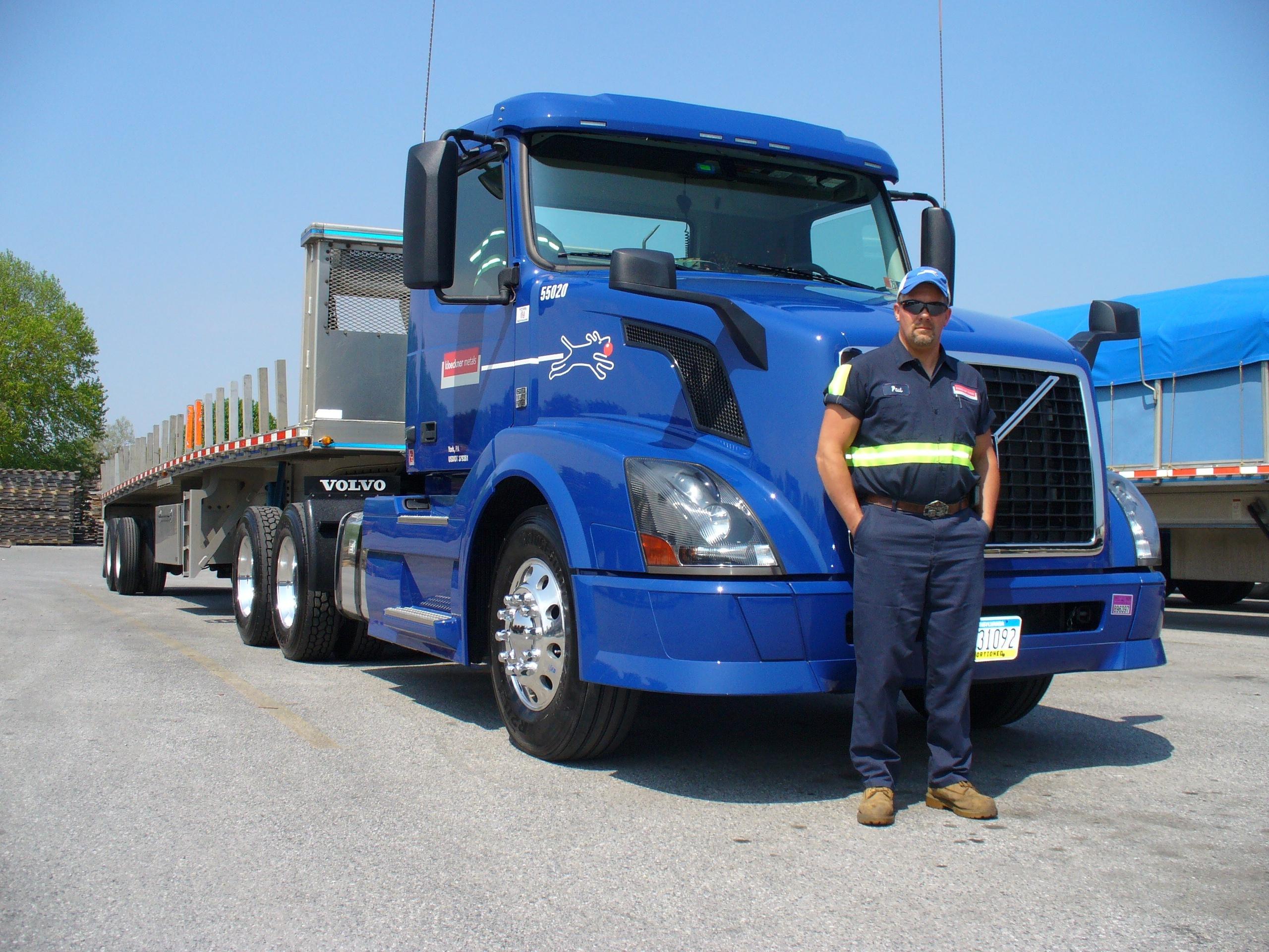 Careers at Kloeckner: Truck Drivers
